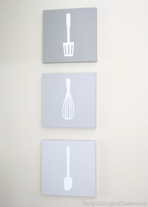 Ombre Kitchen Wall Art