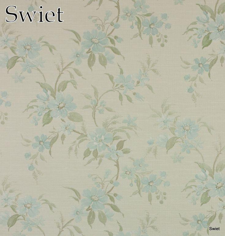 Brocante bloemenbehang | Swiet