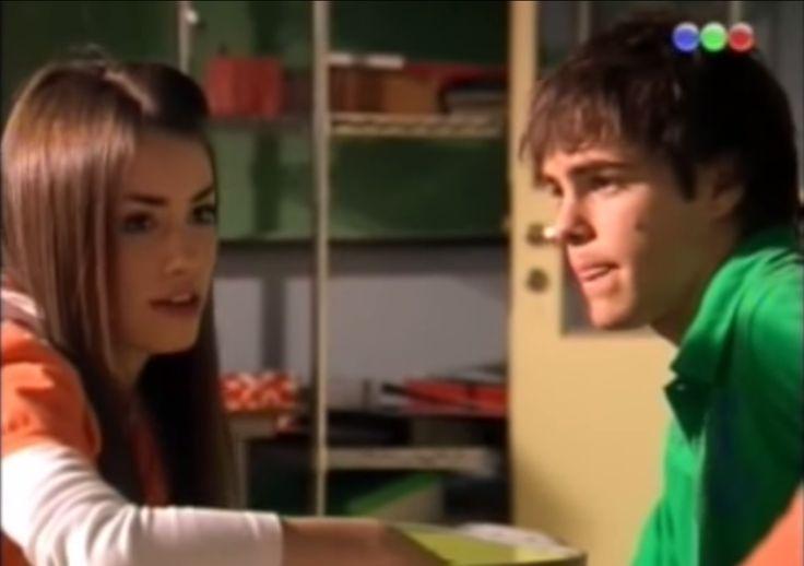 Lali y Peter (Mar y Thiago) de Casi Ángeles en la tercera temporada