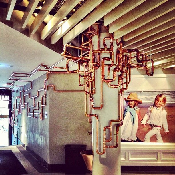 24 Best Images About Exposed Pipes On Pinterest Copper Industrial And Red Cedar