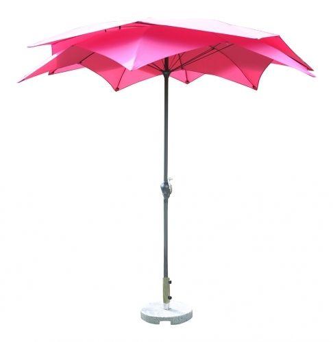 Leco parasol Bloei, aluminium buis, polyester dak - De mooiste tuinartikelen bij Lecoshop.nl! Hoppashops.nl