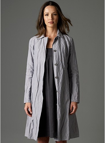 I have a slightly older version of this cool jacket, with a rounded color. It's a go-to piece, dresses up or down, and I'm sure I'll have it for years to come. Love.