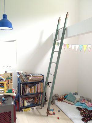 japan dream house loft ladder