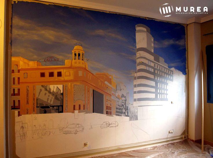 """Segunda parte de mural """"Callao"""""""