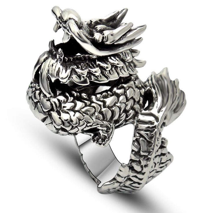 Popular Dragon Rings Men-Buy Cheap Dragon Rings Men lots from ...
