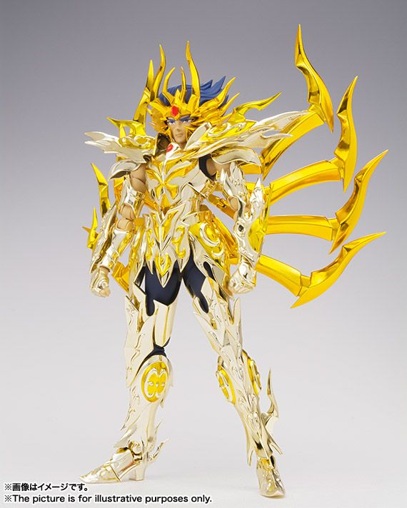 Mechanical Japan: Saint Seiya Soul Of Gold - Máscara de la Muerte Cancer Armadura Divina Myth Cloth EX (Bandai)