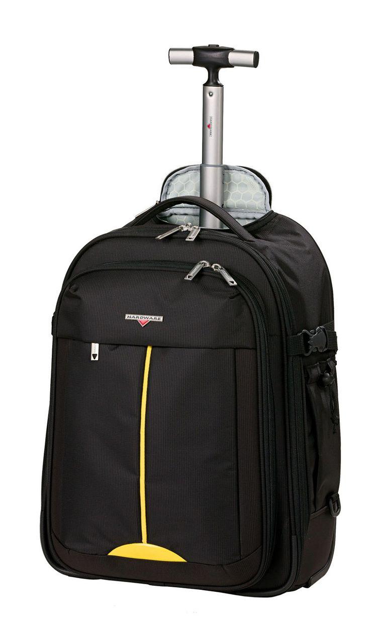 Hardware Lightweight II Rucksack-Trolley 2w Black/Yellow