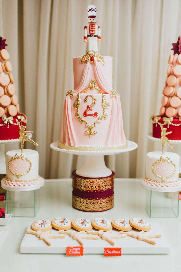 Photography: Mango Studios - mangostudios.com Read More: http://www.stylemepretty.com/living/2014/12/23/a-nutcracker-themed-birthday/