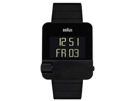 Braun Uhren Herrenuhr Prestige BN0106BKBTG/66535