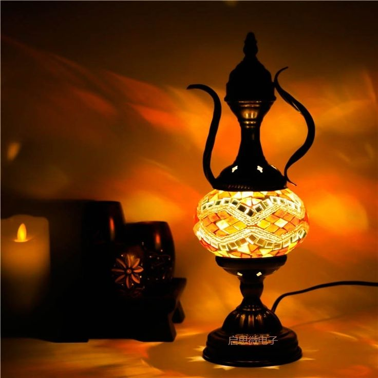 74.52$  Buy here - http://alilwk.shopchina.info/go.php?t=32806681846 - 2017 Newest Mediterranean style Art Deco Turkish Mosaic Table Lamp Handcrafted mosaic Glass romantic bed light 74.52$ #aliexpress