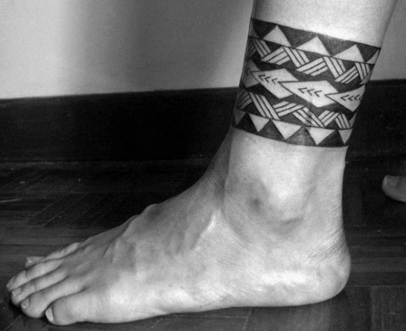 Why You Must Experience Tribal Ankle Tattoo At Least Once In Your Lifetime Tribal Ankle Tattoo Leg Band Tattoos Ankle Bracelet Tattoo Tribal Tattoos For Men