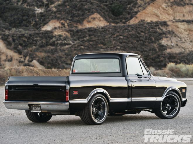 1968 Chevy C10 Rear View