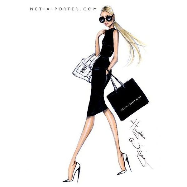 Hayden Williams Fashion Illustrations found on Polyvore