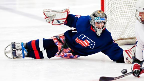 Steve Cash andperseverance Team USA sled hockey goalie overcame childhood cancer andamputation Updated: January 24, 2014. By Devon Heinen | espn.com