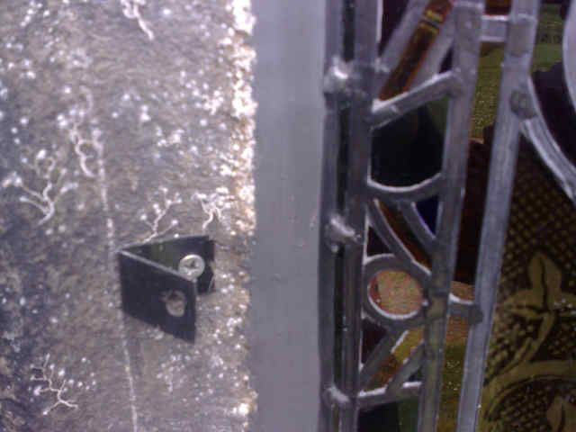 Polycarbonate glazing|Church stained glass window Security|Leaded Light Window protection
