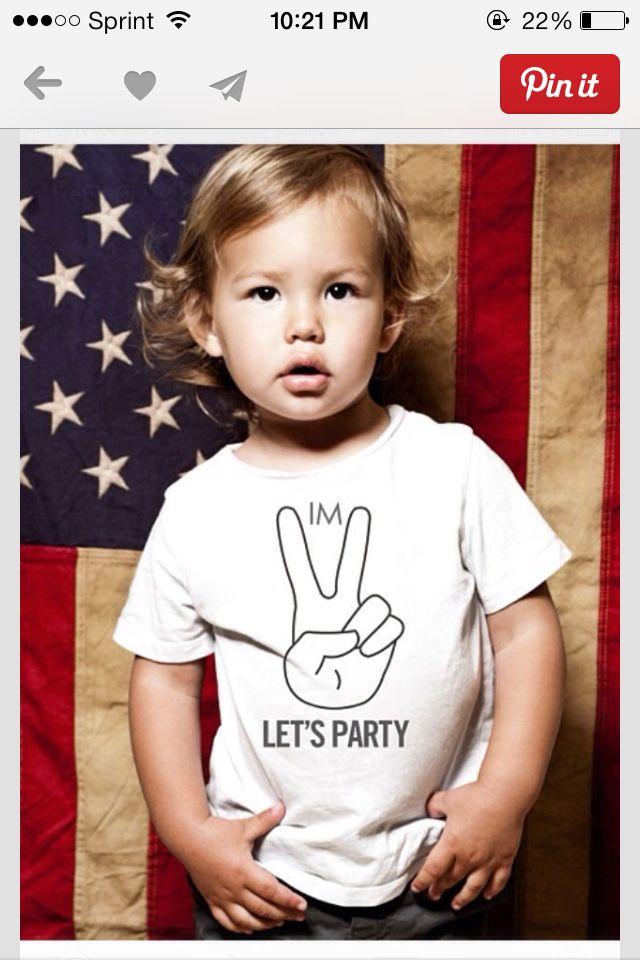 2yr old birthday party shirt..