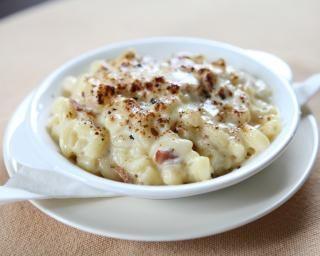 Risotto de coquillettes, mozzarelle, jambon cru et paprika : http://www.fourchette-et-bikini.fr/recettes/recettes-minceur/risotto-de-coquillettes-mozzarelle-jambon-cru-et-paprika.html