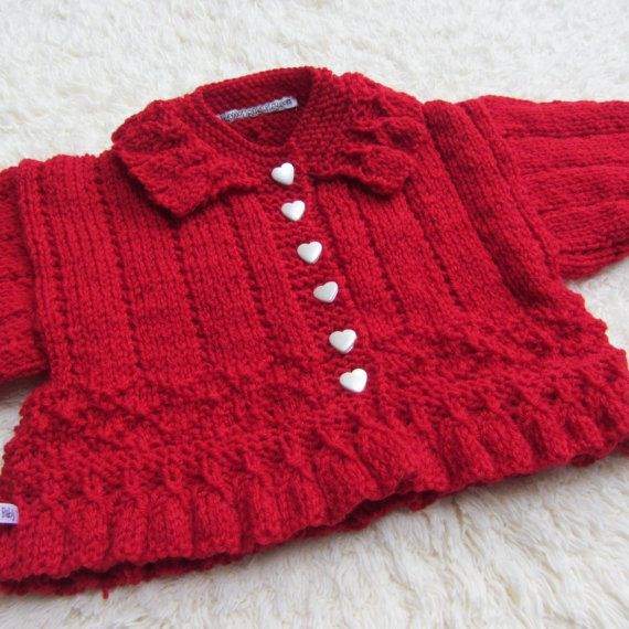 247 best BABY CARDIGAN images on Pinterest | Baby cardigan ...