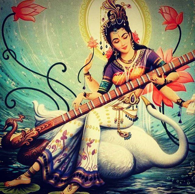 JAI MAA SARASWATI   INDIAN GOD