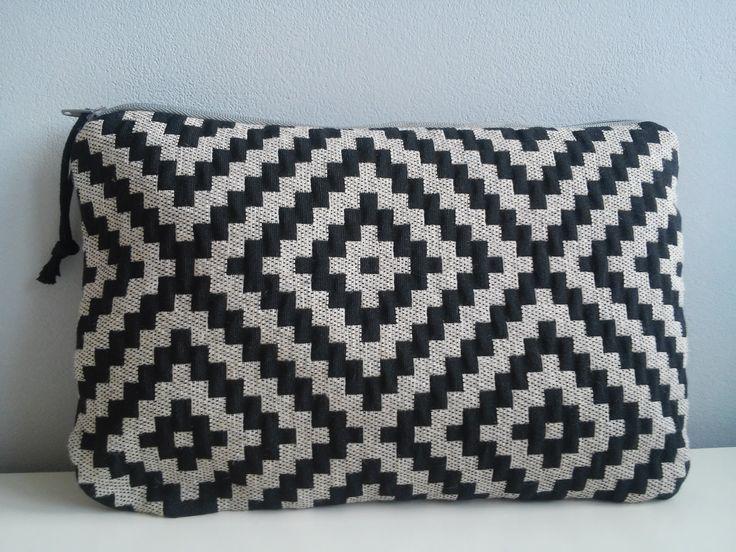 Trousse pochette de sac aztèque : Tissus par unchatsurletoit