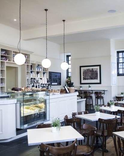 Caf Interior By Ampersand Interiors Edinburgh