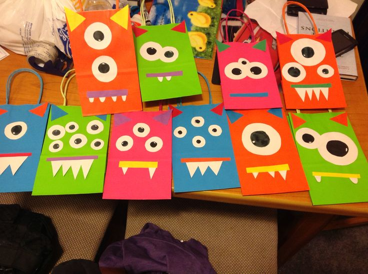 Monster goodie bags