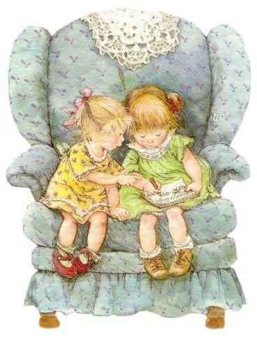 les deux petites filles
