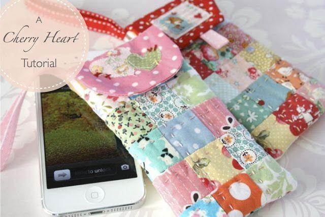 Cherry Heart: Phone Case Tutorial