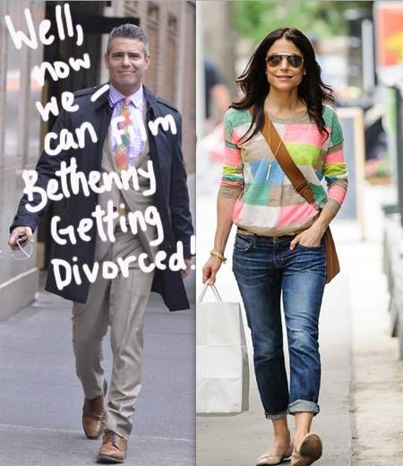 Andy Cohen admitted he was surprised when Bethenny Frankel decided to divorce her husband!