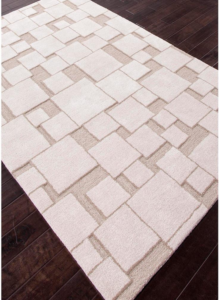 modernrugs.com Bunch of Squares Neutral Modern Rug