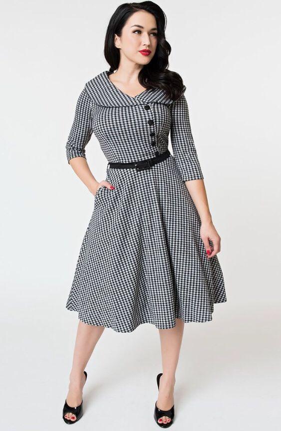 a1401aea36  retro  midmod  midcenturyfashion  rockabilly  fashion  vintage  dress