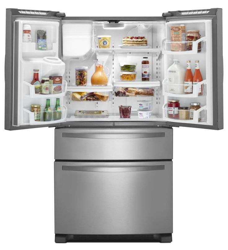 superior Whirlpool Kitchen Appliances Reviews #3: Whirlpool® French Door Refrigerator with External Refrigerated Drawer