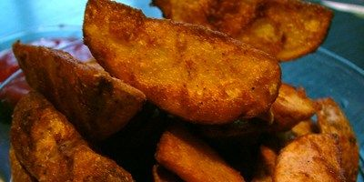 Try this Potato Wedges recipe by Chef Paul Merrett. This recipe is from the show Ever Wondered About Food.