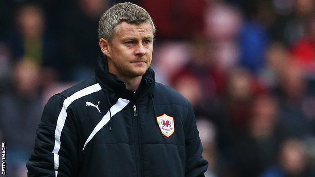Ole Gunnar Solskjaer: Cardiff City manager eyes miracle finish - Article From BBC Website - http://footballfeeder.co.uk/news/ole-gunnar-solskjaer-cardiff-city-manager-eyes-miracle-finish-article-from-bbc-website/