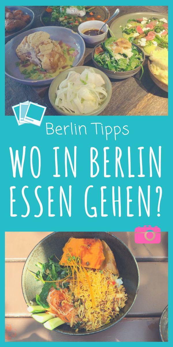 Restauranttipps Berlin: Wohin in Berlin essen gehen?