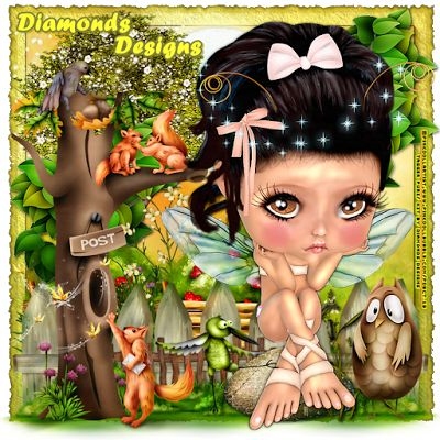 "MI RINCÓN GÓTICO: CT for Diamonds Designs & CT for Pink.Doll.Bubble, ""Magical Forest """