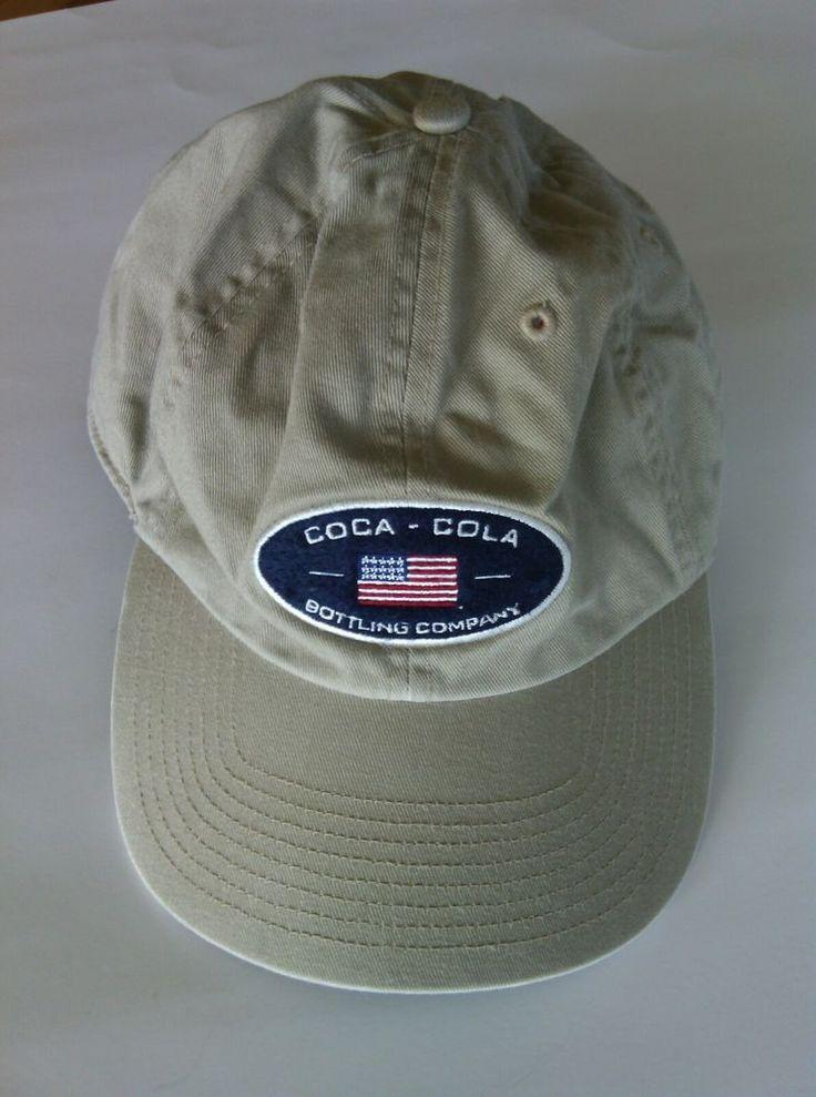 Coca Cola Baseball Cap Bottling Company Atlanta Hat Size Adjustable Embroidered  | eBay