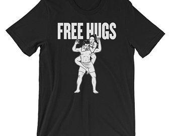 48fbf0e2 Jiu Jitsu Shirt / Women's Jiu Jitsu Gift / Free Hugs BJJ Shirt / Brazilian Jiu  Jitsu Shirt / funny Jiu jitsu / Jiu Jitsu Apparel / BJJ Gif