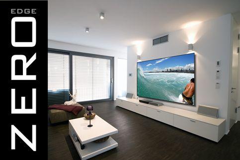 Screen Innovations Black Diamond Zero Edge 133 in. diagonal Fixed Frame screen