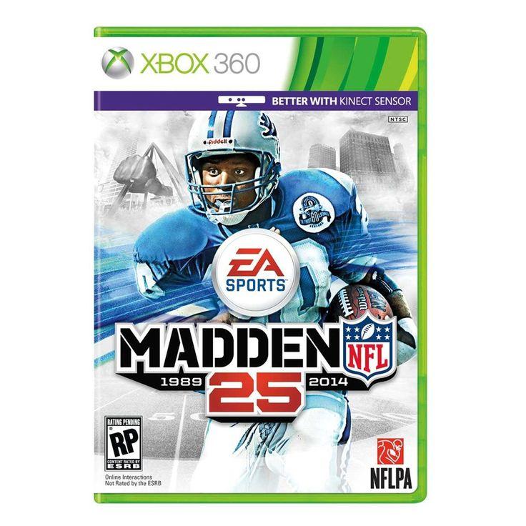 Madden NFL 25 EA Xbox 360  Celebrando el aniversario número 25 de Madden NFL, llega este juego para romper con las barreras sobre este deporte extremo.   *Hasta agotar existencias  Walmart.com.mx, Hacemos Clic!