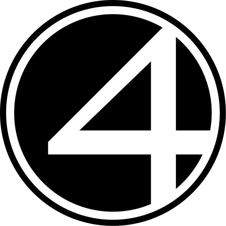 Fantastic Four logo 1,024×1,024 pixels