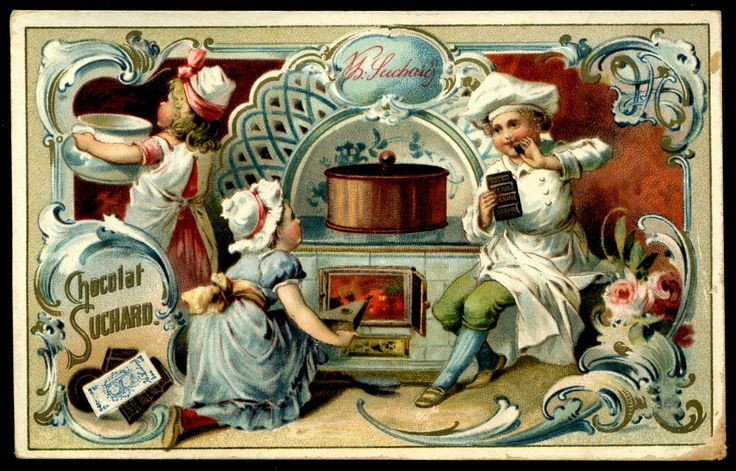https://flic.kr/p/brToq5 | Suchard - Children & Kitchen Scenes #5 | Suchard Chocolate c1898