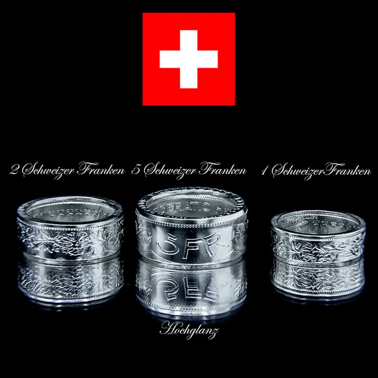 Coin Rings created from Swiss franc – Antique Münzringe aus Schweizer Franken - Antik#  #love #photooftheday #art #style #coin #coinring #coinrings #silver #jewelry #coin #antique #ring #accessoires #antik #switzerland #swiss #schweiz #münzringe