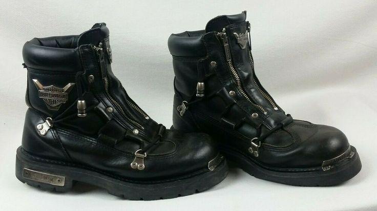 Harley-Davidson Mens Size 85 Brake Light Black Leather -9821