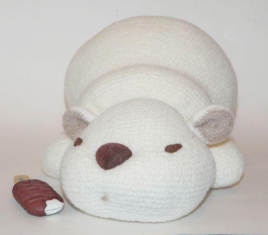 Сладкие сны белых медведей... - С душой..для души... - Галерея - Форум почитателей амигуруми (вязаной игрушки)