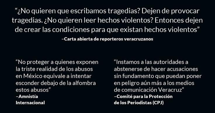 Cuarenta y tres reporteros de Córdoba, de la región central y del estado de Veracruz, manifestaron su repudio a la muerte de Anabel Flores Salazar, periodista veracruzana del Sol de Orizaba secuestrada por hombres armados que irrumpieron en su casa y hallada sin vida y con señales de tortura en e