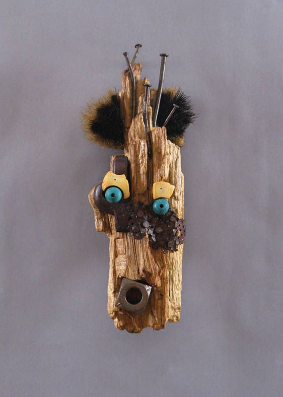 Art Mask Sculpture Wooden Sculpture  Titus