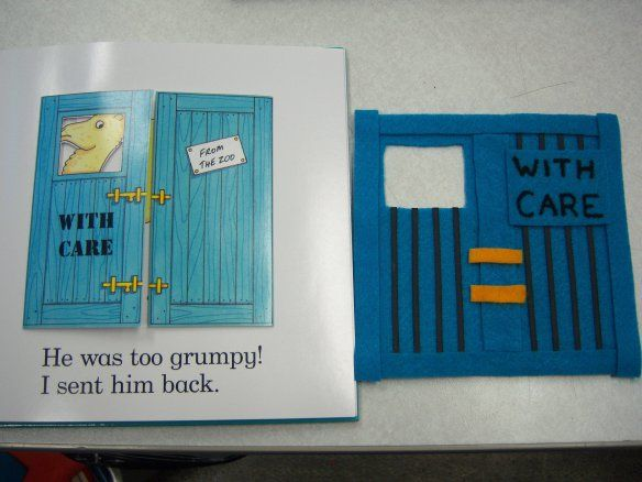 """From KizClub; direct link for the """"Dear Zoo"""" flannelboard. I know that this book has been around since I was a kid, but I had never seen it until I found the flannel template for it. It…"""