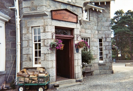 Braemar Lodge Scotland.