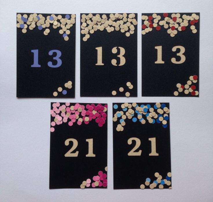 Confetti Craze  #confetti #birthday #invitation